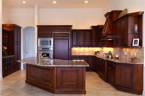 Kitchen Triangle Shaped Island Ideas  Different Shaped