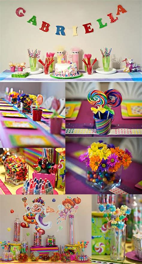 Candyland Birthday Party Theme!  Sweet City Candy Blog