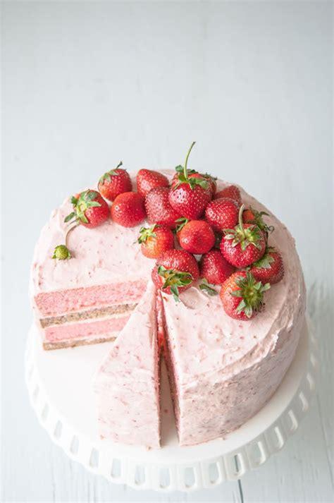 strawberry banana cake strawberry recipes to try for pretty designs