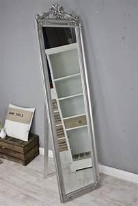 Barock Spiegel Groß : standspiegel gro 180 x 45 cm silber barock spiegel antik landhaus holz patina ebay ~ Whattoseeinmadrid.com Haus und Dekorationen