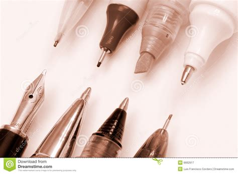 Writing Tools Stock Image Image Of Drawing, Pencil, Isolated 6662917