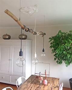 Hängelampe Selber Machen : deko mit sten diy pinterest deko ast und beleuchtung ~ Markanthonyermac.com Haus und Dekorationen