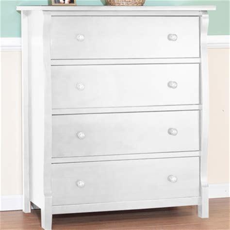 sorelle dresser white sorelle tuscany 4 drawer dresser in white free shipping