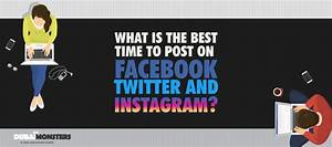 Best Time To Post On Facebook, Twitter and Instagram ...