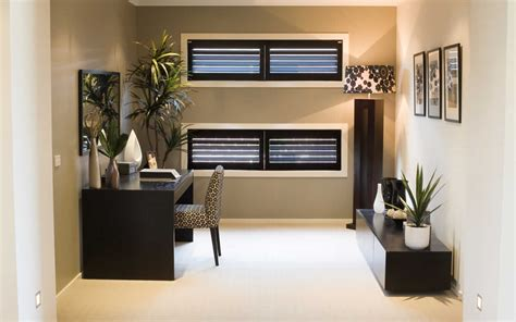 Amazing Of Cool Small Office Den Decorating Ideas With Of