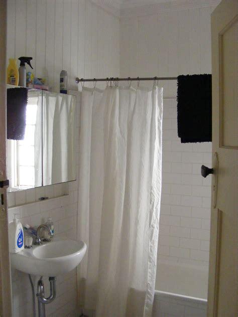 shower curtain rod restoration hardware curtain