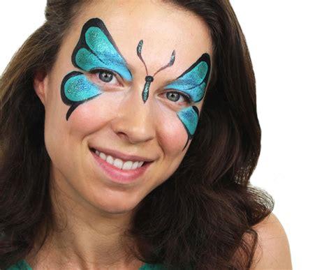 So Schminken Sie Einen Farbenfrohen Schmetterling Auf