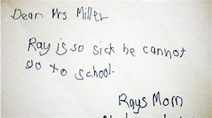 10 hilarious hand-written notes by students (and their ...