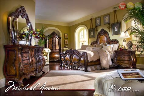 Michael Amini Bedroom Set by Michael Amini Chateau Beauvais Traditional Luxury Bedroom