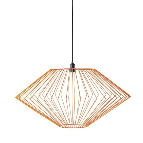 suspension m 233 tal orange astro maisons du monde