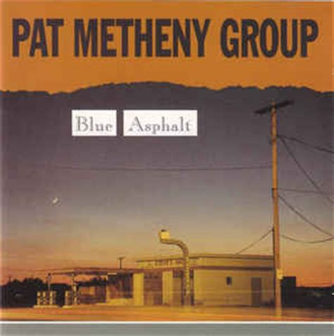 pat metheny blue asphalt cd album at discogs