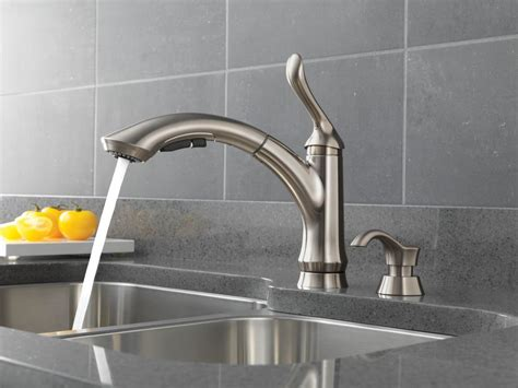 faucet 4353 sssd dst in stainless steel by delta