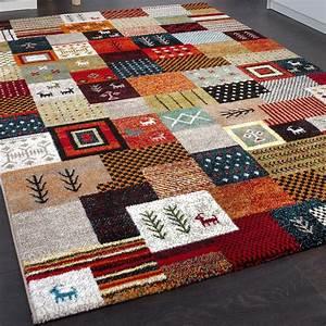 Gabbeh Teppich Ikea : designer teppiche modern loribaft nomaden teppich terra rot gr n multicolour alle teppiche ~ Markanthonyermac.com Haus und Dekorationen