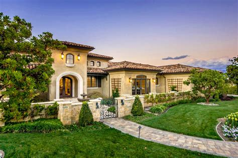Mediterranean Tuscan Style Home/house (el Dorado Hills, Ca