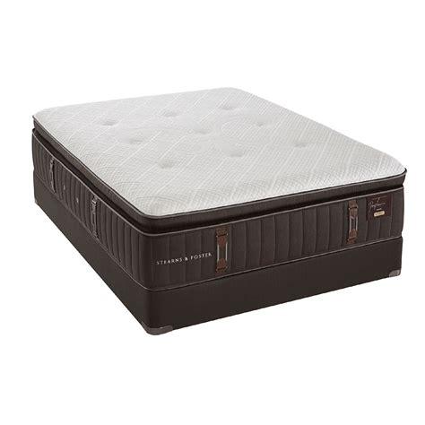 stearns foster reserve luxury pillow top mattress
