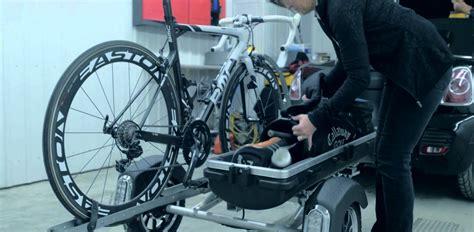 remorque pour moto auto velo valise golf rapide simple trailer aluminium legere