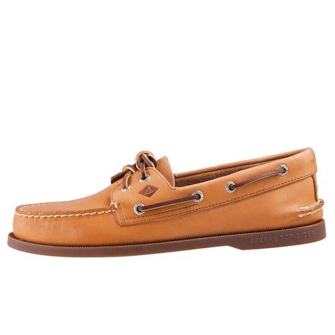 Tan Sperry Boat Shoes by Sperry Ao 2 Eyelet 0197640 Mens Boat Shoes In Tan