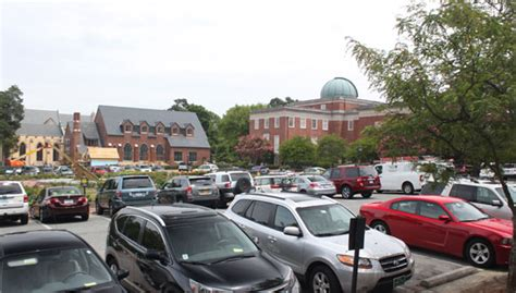 visitor parking at unc