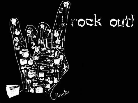 Rock On Music Finger Wallpapers