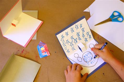 How To Make Pop Up Cards Tinkerlab