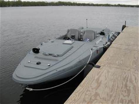 Plastic Catamaran Hull by Stanley Widmer Patented Plastic Boat Hull