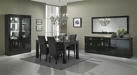 miroir de salle 224 manger 180 cm laqu 233 noir solene miroir autres meubles salle a manger