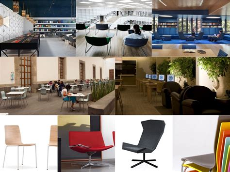 Spaceist Presents Five Seating Ideas For A Modern Library