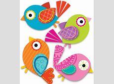 Boho Birds Mini CutOuts Grade PK5 CarsonDellosa
