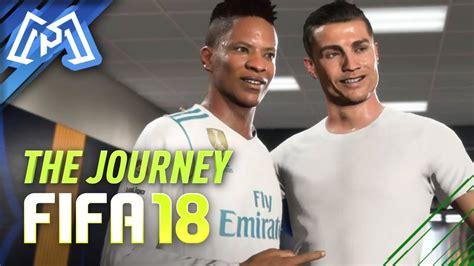 ENCONTREI O RONALDO!  FIFA 18  The Journey #02 YouTube