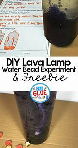 DIY Lava Lamp With Water Beads Experiment Freebie - A Dab ...