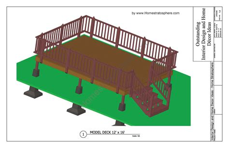 free deck plans and blueprints with pdf downloads