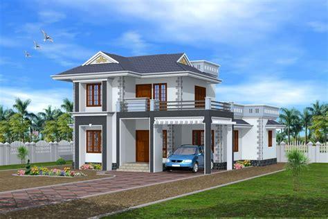D Exterior Design Kerala House D Home Design