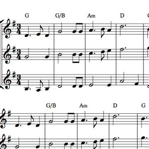 Skye Boat Song For Violin by Skye Boat Song Fiddle Trio Or Duet Arrangement Sheet Music