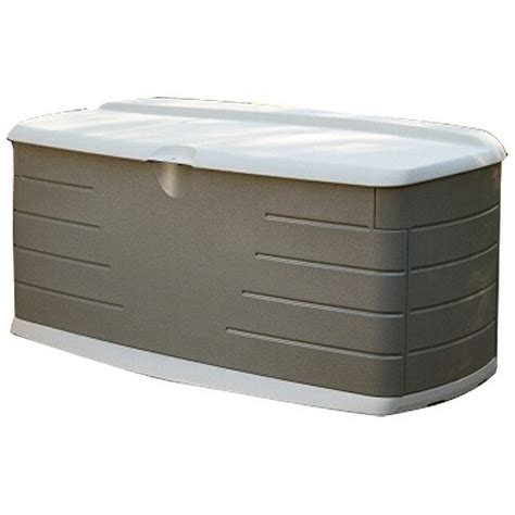 Rubbermaid Deck Box Home Depot by Rubbermaid Deck Box With Seat 12 Cubic