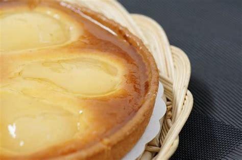 recette tarte amandine aux poires 750g