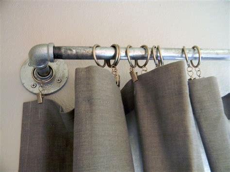 Diy Curtain Rods-rustic Crafts & Chic Decor