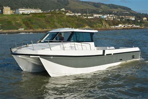 Catamaran For Sale Fishing by Catamaran Day Fishing Boat Outboard Andy O Cheetah