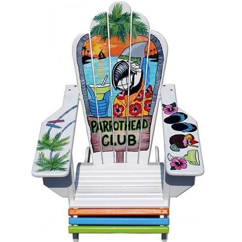 Margaritaville Adirondack Chair Parrot by Would To One Of These Custom Parrot