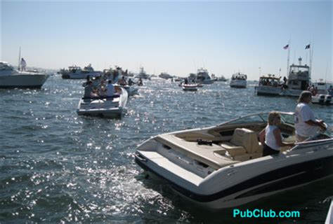 Grizzly Bar Boat Race Party by It S A Boat Party At The Annual Catalina Water Ski Race