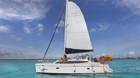 Private Catamaran In Cozumel by Private Luxury Catamaran With Snorkel Stop Cozumel