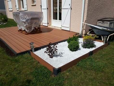 1000 ideas about pose terrasse bois on terrasse en bois chantier and id 233 e terrasse