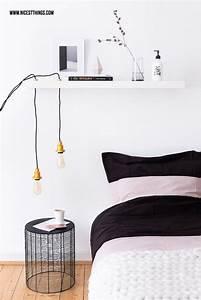 Schlafzimmer Lampe Selber Machen : die 25 besten ideen zu textilkabel auf pinterest textilkabel lampe licht lampe und beton design ~ Markanthonyermac.com Haus und Dekorationen