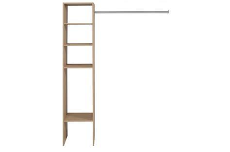 penderie dressing avec 233 tag 232 re de rangement couleur bois meuble de rangement pas cher