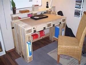 Schreibtisch 1 Klasse : handgefertigter schreibtisch aus euro paletten in kottenheim b rom bel kaufen und verkaufen ~ Markanthonyermac.com Haus und Dekorationen