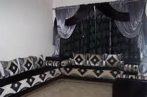 rideaux pour salon marocain traditionnel deco salon marocain
