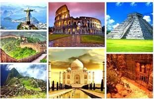 new seven wonders of the world द न य क 7 नय अज ब