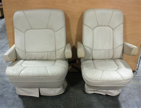 rv furniture used rv leather look captain chairs for sale rv captains chairs where to buy rv