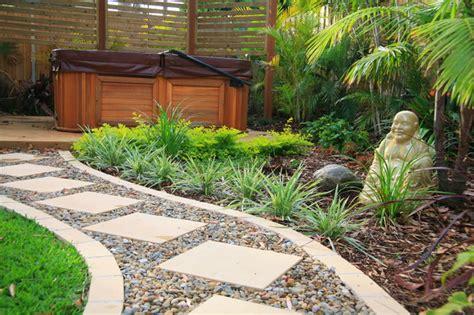 Balinese Style Garden Design   Asian   Landscape   Sydney   by Space Landscape Designs
