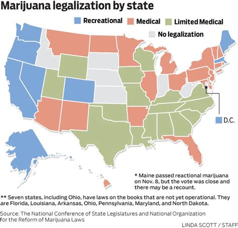 voters say yes to marijuana in eight states