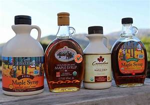 Pure Maple Syrup, An Alternative Natural Sweetener